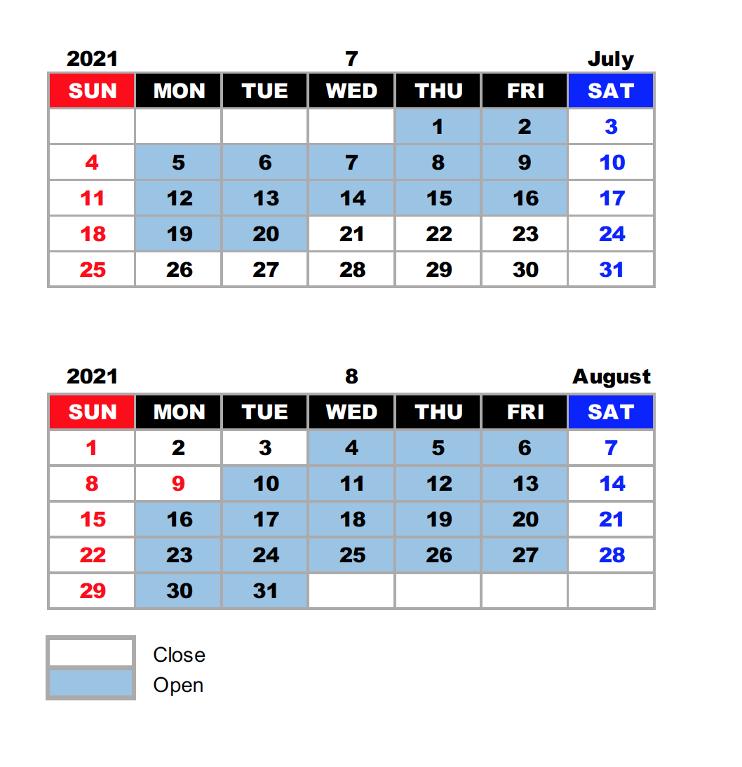IERS Summer Schedule.png