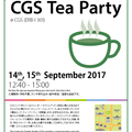 CGS Tea Party 2017 September