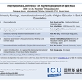 International Conference on Higher Education in East Asia