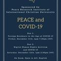 [PRI 平和研究所] PRI Virtual Weekend Peace Symposium Series 平和研究所 バーチャル・シンポジウムのご案内